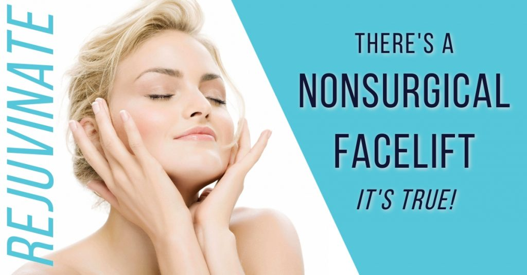 there's a nonsurgical facelift. it's true!