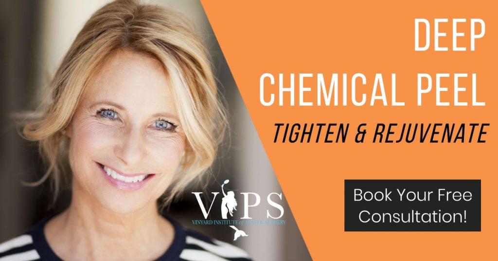 deep chemical peel: tighten and rejuvenate