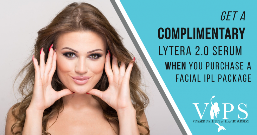 get a complimentary lytera 2.0 serum when you purchase a facial upl package