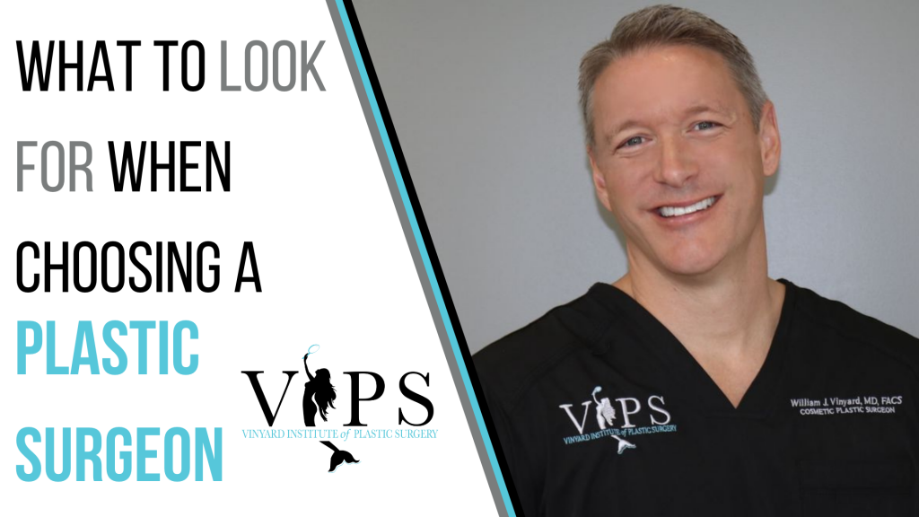 What To Look For When Choosing A Plastic Surgeon